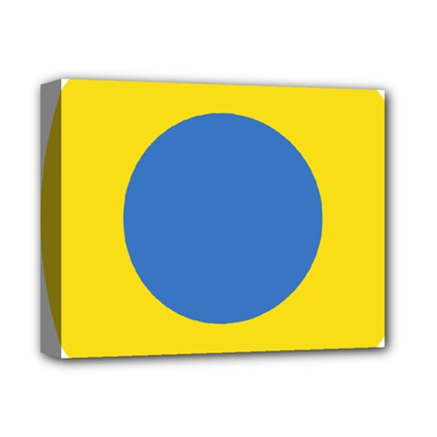Ukrainian Air Force Roundel Deluxe Canvas 14  x 11