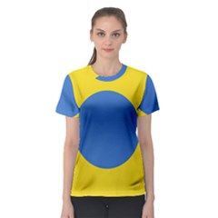 Ukrainian Air Force Roundel Women s Sport Mesh Tee