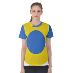 Ukrainian Air Force Roundel Women s Cotton Tee