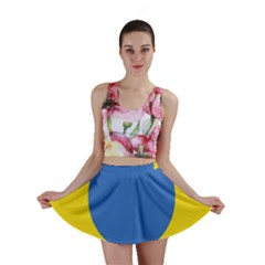 Ukrainian Air Force Roundel Mini Skirt