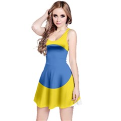 Ukrainian Air Force Roundel Reversible Sleeveless Dress