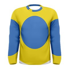 Ukrainian Air Force Roundel Men s Long Sleeve Tee
