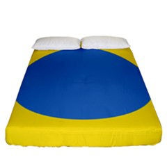 Ukrainian Air Force Roundel Fitted Sheet (King Size)