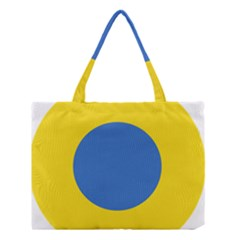 Ukrainian Air Force Roundel Medium Tote Bag