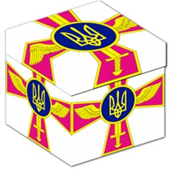 Emblem of The Ukrainian Air Force Storage Stool 12