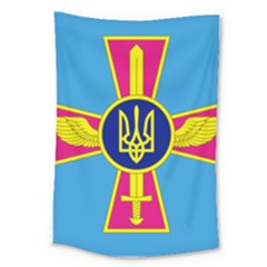 Ensign Of The Ukrainian Air Force Large Tapestry