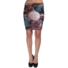 Rain Flower Stones Is A Special Type Of Stone Bodycon Skirt