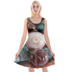 Rain Flower Stones Is A Special Type Of Stone Reversible Velvet Sleeveless Dress