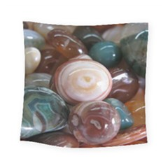 Rain Flower Stones Is A Special Type Of Stone Square Tapestry (small)