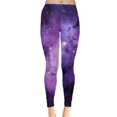 Purple Space Leggings