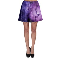 Purple Space Skater Skirt