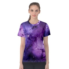 Purple Space Women s Sport Mesh Tee