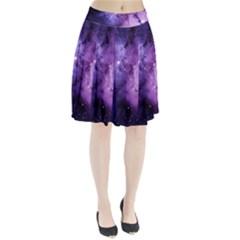 Purple Space Pleated Skirt