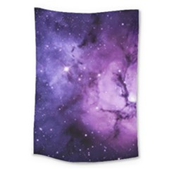 Purple Space Large Tapestry