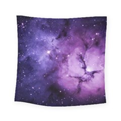 Purple Space Square Tapestry (Small)