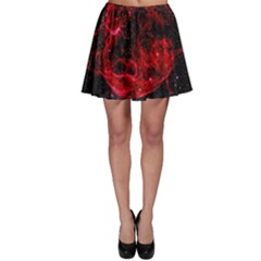 Red Nebulae Stella Skater Skirt