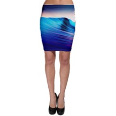 Rolling Waves Bodycon Skirt