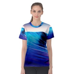 Rolling Waves Women s Sport Mesh Tee