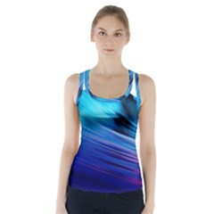 Rolling Waves Racer Back Sports Top