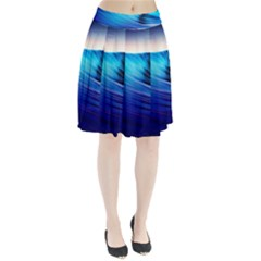 Rolling Waves Pleated Skirt