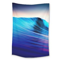 Rolling Waves Large Tapestry