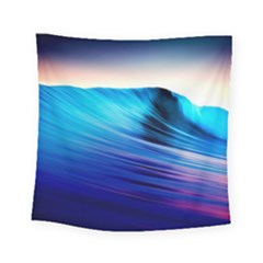 Rolling Waves Square Tapestry (small)
