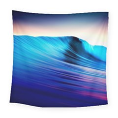 Rolling Waves Square Tapestry (Large)