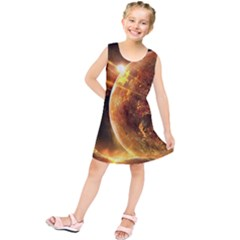 Sci Fi Planet Kids  Tunic Dress