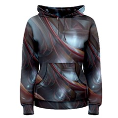 Shells Around Tubes Abstract Women s Pullover Hoodie
