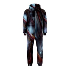 Shells Around Tubes Abstract Hooded Jumpsuit (kids)