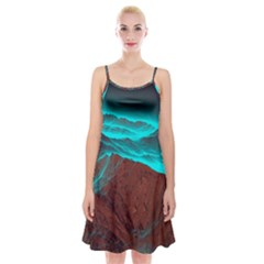 Shera Stringfellow Spaghetti Strap Velvet Dress