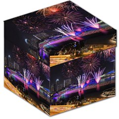Singapore The Happy New Year Hotel Celebration Laser Light Fireworks Marina Bay Storage Stool 12