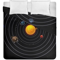 Solar System Duvet Cover Double Side (king Size)