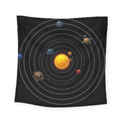 Solar System Square Tapestry (small)