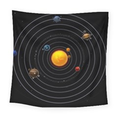 Solar System Square Tapestry (Large)
