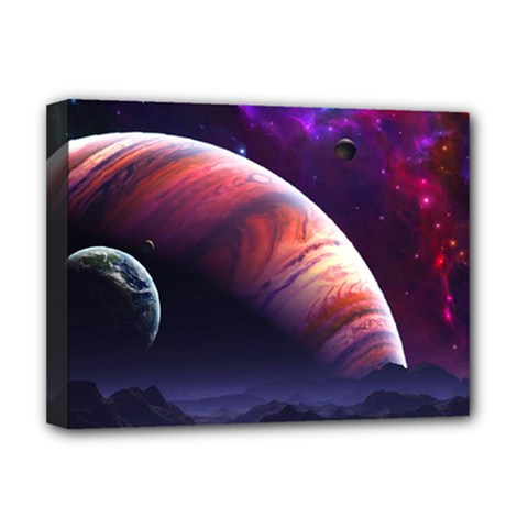 Space Art Nebula Deluxe Canvas 16  X 12