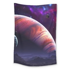 Space Art Nebula Large Tapestry