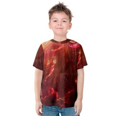 Space Red Kids  Cotton Tee