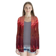 Space Red Cardigans
