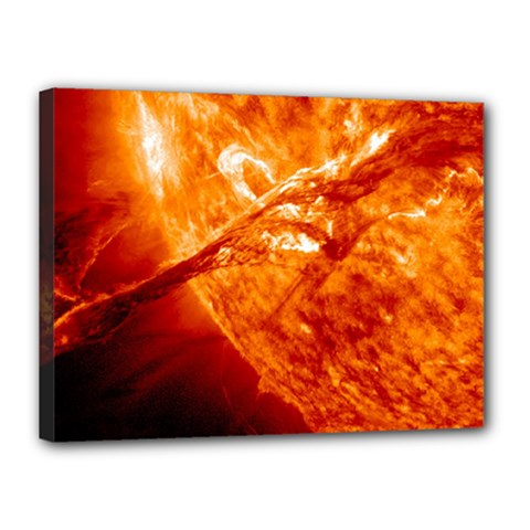 Spectacular Solar Prominence Canvas 16  X 12
