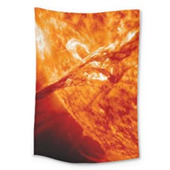 Spectacular Solar Prominence Large Tapestry