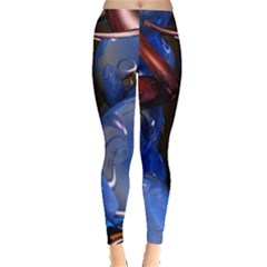 Spheres With Horns 3d Leggings