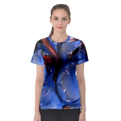 Spheres With Horns 3d Women s Sport Mesh Tee