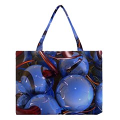 Spheres With Horns 3d Medium Tote Bag