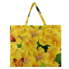 Springs First Arrivals Zipper Large Tote Bag