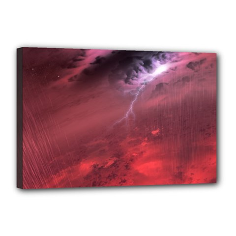 Storm Clouds And Rain Molten Iron May Be Common Occurrences Of Failed Stars Known As Brown Dwarfs Canvas 18  X 12