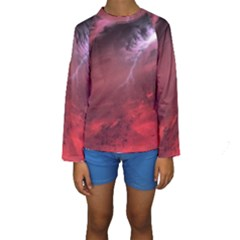 Storm Clouds And Rain Molten Iron May Be Common Occurrences Of Failed Stars Known As Brown Dwarfs Kids  Long Sleeve Swimwear
