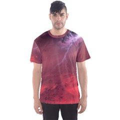 Storm Clouds And Rain Molten Iron May Be Common Occurrences Of Failed Stars Known As Brown Dwarfs Men s Sport Mesh Tee