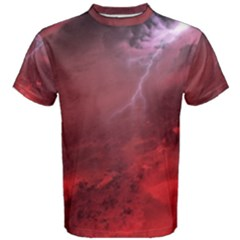 Storm Clouds And Rain Molten Iron May Be Common Occurrences Of Failed Stars Known As Brown Dwarfs Men s Cotton Tee