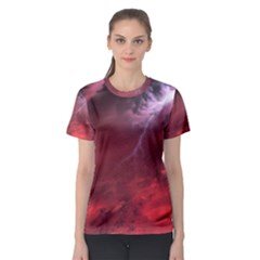 Storm Clouds And Rain Molten Iron May Be Common Occurrences Of Failed Stars Known As Brown Dwarfs Women s Sport Mesh Tee